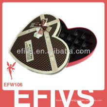 Hot Sale Elegant Chocolate Brown Wedding Favor Box Supplier