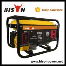 BS2500EG BISON China Taizhou 2kv 2kva 2.5kva Low Noise Easy Start Gerador de gasolina conjunto com preço de fábrica