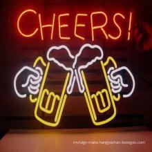 Hot sale bar shop neon logo sign unbreakable outdoor sign led custom led neon sign bar decoration