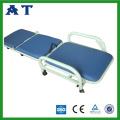 Foldable hospital plastic-spray Accompany bed