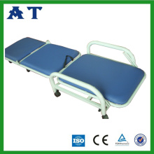 Foldable hospital plastic-spray Accompany bed