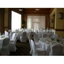 couverture de chaise, housse de fauteuil polyester CTV589, tissu épais 200GSM, durable et facile de mariage lavable