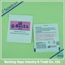 Almofada de clorexidina Q-Bac2A
