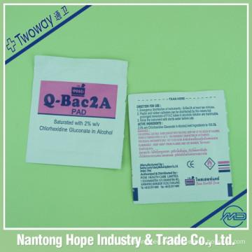 Q-Bac2A Chlorhexidin-Pad