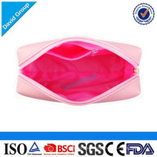 Money Safe Alibaba Top Supplier Hot Recommendation Logo Customized Popular Goods Vinyl Cosmetic Bag