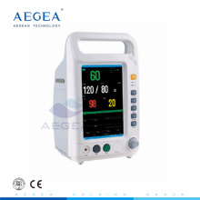 AG-BZ007 hospital medical supplies with 4 Standard parameters ambulance patient monitor ambulance patient monitor