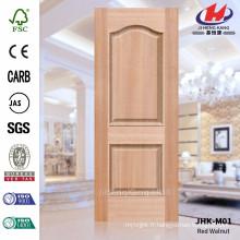 JHK-M01 4.2MM Nouvelle conception utilisée dans le modèle Jugulars Red HDF Moulded Door Skin