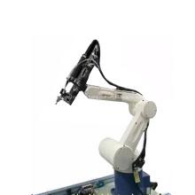 Maquinaria automática do parafuso com braço do robô