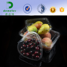 Strawberry Grape Blueberry Storage Pet Plastic Fruit Punnet Packaging