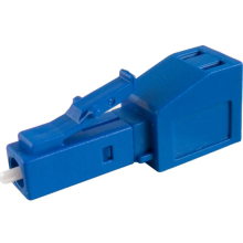 LC Singlemode Memperbaiki Flanged Fiber Optic Attenuator
