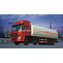 6X4 lecteur Dongfeng carburant camion / réservoir de carburant camion / huile camion / huile réservoir camion pour 15-25 mètres cubes