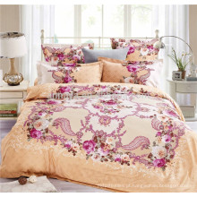 Últimos desenhos folha de cama e conjunto de folha nupcial bonito China fabricante