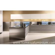 Armários de cozinha de alumínio anti-mofo