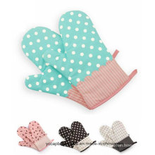Funy Candy Color Cotton Oven Glove