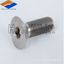 titanium countersunk head bolt DIN7991