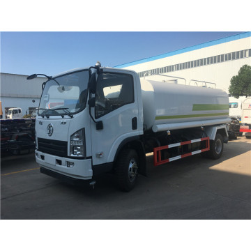 Shaanxi Xuande 5 tons of green spraying vehicle