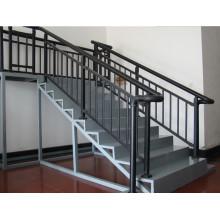 Revestimento em pó de aço Escada de corrimão / escada de trilhos