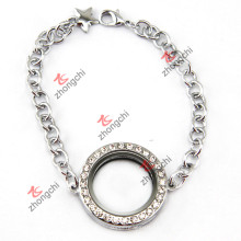 Pulsera redonda de plata Jewellry para la decoración del festival (LB-102)