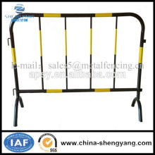 Hot-dipped police fence/can movable temporary fence