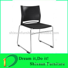 metal frame stackable plastic link chair