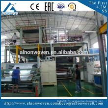 Nouveau tissu non-tissé de la conception AL-3200MM SSS faisant la machine avec le certificat de la CE
