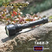 Maxtoch TA6X-7 1000LM filtre couverture de chasse XM-L T6 lampe de poche