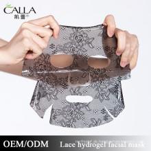 2017 heiße verkäufe Intensive Feuchtigkeitsspendende Hydrogel Lace Gesichtsmaske