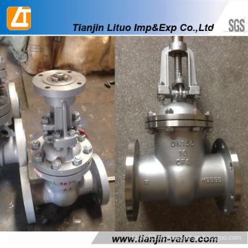Válvula de compuerta de acero al carbono Wcb Q235 ANSI, GOST, BS