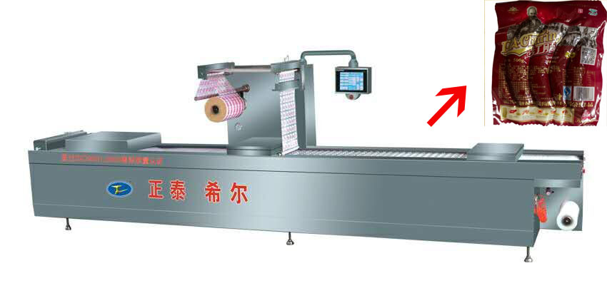 Automatic Forming and Vacuum packing machine