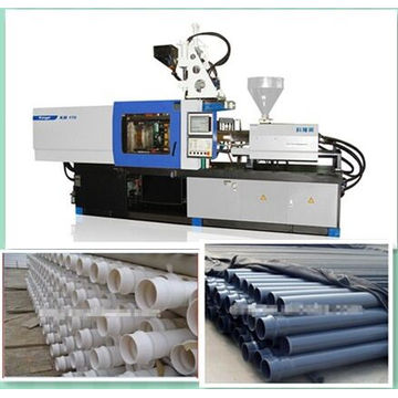 Máquina de moldeo por inyección plástico de la pipa
