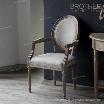 Hot vente antique français banquet hall chaises et tables