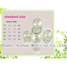 Набор стеклянных чашек для традиционной медицины
