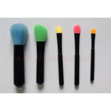 Novo estilo 5pcs escova de maquiagem portátil
