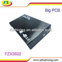 3,5 '' USB2.0 SATA алюминиевый портфель жесткий диск футляр для футляра