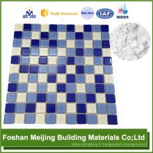 casserole de gril de revêtement antiadhésive professionnelle en aluminium arrière pour la fabrication de mosaïque de verre