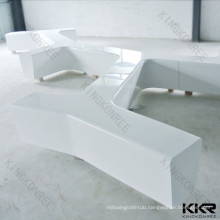 Unique Design Artificial Stone Airport Rest Bench Chair