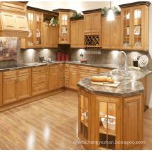 Frame Door Solid Wood Kitchen Cabinet