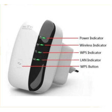 300Mbps Wireless-N WiFi Repeater 802.11n Router Ap Repeater Bridge
