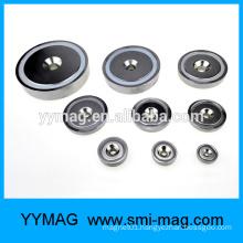 Strong metal magnet holder