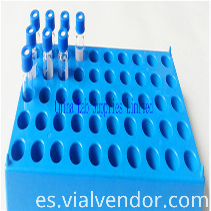 Bule Rack Vial