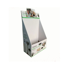 Pop Paper Counter Display Stand, Corrugated Cardboard Display