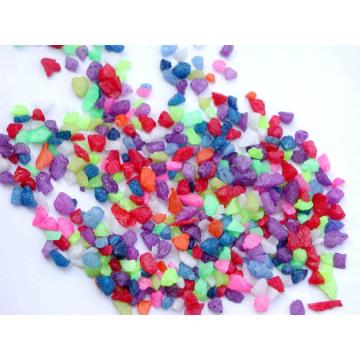 Наполнитель из цветного стекла для песочной вазы