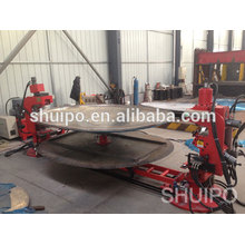 No Template Irregular Dished Head Folding Machine/dished ends flanging machines