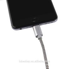 Schnell verkaufend!!! Nylon-geflochtenes USB-Kabel Typ-C 3.1-Kabel