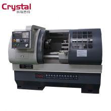 máquina hidráulica CK6140A * 1000mm do torno do cnc da precisão do mandril