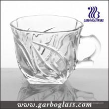 Caneca de vidro & copo de chá (GB09D2706SC)