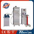 Small simple Fire extinguisher dry powder filling machine