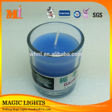 Venta caliente Enviromental Cheap Glass Cup Candle