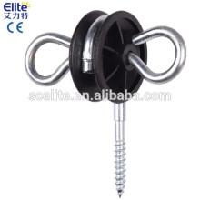 Verlängerungsklammerisolatoren für elektrischen Tierzaun