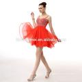 Vestido de noche formal elegante de la dama de honor de la gasa de las ventas al por mayor
